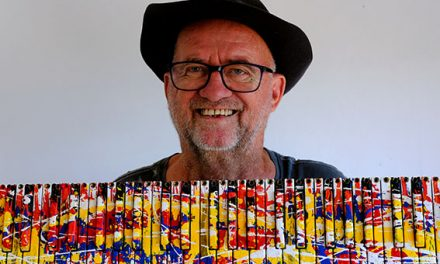 Bernard Ody transforme les encombrants en œuvres d'art