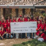 Zimbabwean Patrick Marvos supports the Mauritian Wildlife Foundation