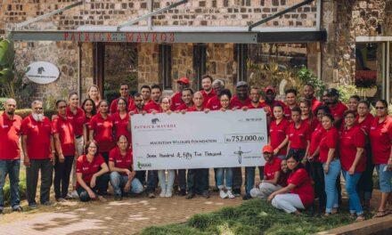 Le Zimbabwéen Patrick Marvos soutient la Mauritian Wildlife Foundation