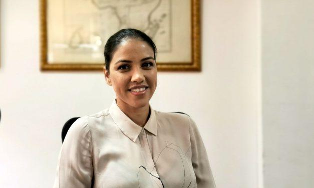 Kareena Neisius, présidente de la Chambre internationale