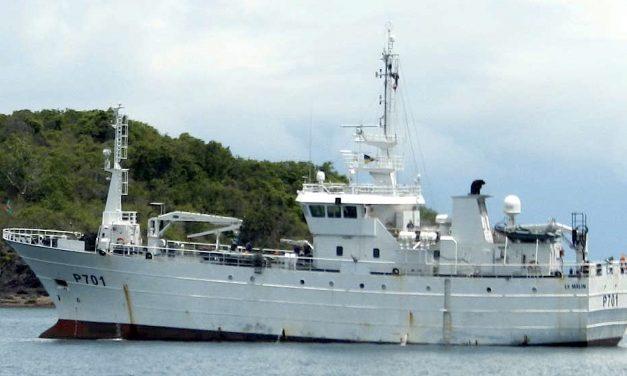 Le Malin en route pour Mayotte