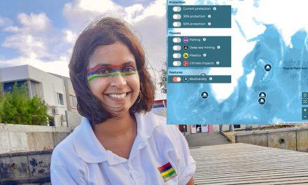 Exclusif : Shaama Sandooyea, jeune scientifique mauricienne avec Greenpeace sur Saya de Malha