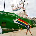 Greenpeace met le cap sur Saya de Malha