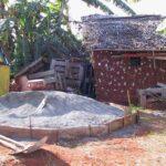 La brique de terre resurgit du passé mahorais.