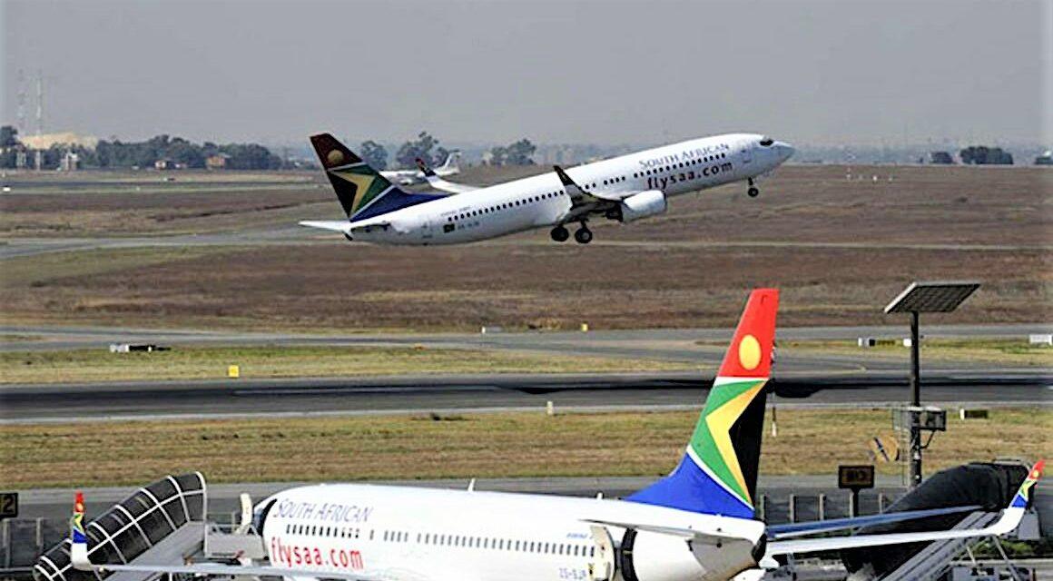 Reprise des vols par la South African Airways