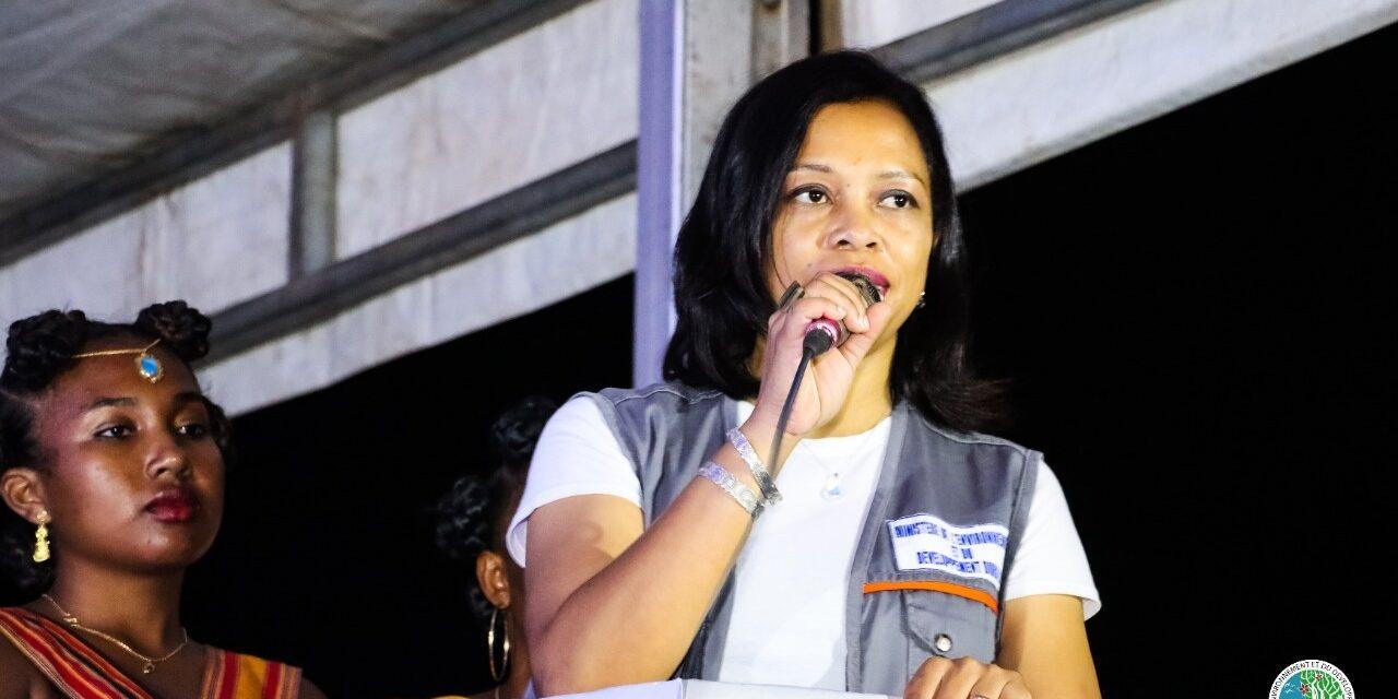 ITV exclusive de Baomiavotse Vahinala Raharinirina, ministre malgache de l'environnement et du développement durable.